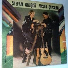 Disc vinil \ vinyl STEFAN HRUSCA VASILE SEICARU - Electrecord - Muzica Pop
