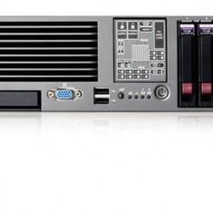 HP Proliant DL380 G5, 2x Xeon Quad Core E5335 2.0Ghz, 8Gb DDR2 FBD, 2x 146Gb SAS, p400 RAID, DVD - Server de stocare