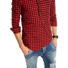 Camasa tip Zara bumbac - camasa carouri - camasa barbati - cod produs: 6001