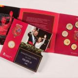 Set 9 monede euro SPANIA 2015 - KMS nou, Europa, Cupru-Nichel
