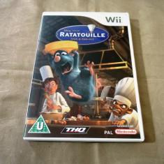 Joc Ratatouille, pentru Wii, original, PAL - Jocuri WII Thq, Actiune, 3+, Multiplayer