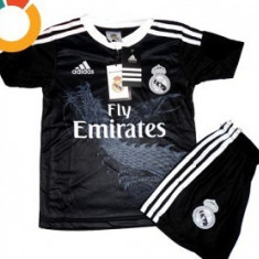 ECHIPAMENTE FOTBAL COPII 2-4 ANI, REAL MADRID -LIVRARE GRATUITA - Set echipament fotbal Adidas, Marime: XS