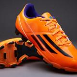Adidasi barbati - Adidas Mens F5 TRX FG Football Boots Solar Zest Black Purple