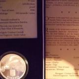 Medalii Romania, An: 2006 - SV * Romania BNR 5 LEI 2006 <Comisia Europeana a Dunarii> ARGINT .999 PROOF