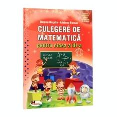 Culegere de matematica cls a III-a, Grujdin