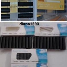 Filtre tigara e-health 10 cartuse negre - Tigara electronica