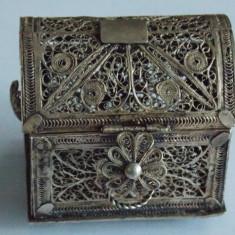 Cufar mic vechi din argint, vintage