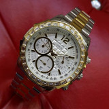 Ceas de Dama Guess Ladies Silver Gold W0016L6