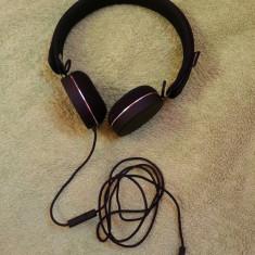 Casti Urbanears Humlan Black - ( mufa reparata ) - perfect functionale - Casti PC, Casti cu microfon, Analog