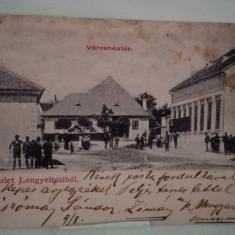 Vedere Ungaria Lengyeltotibol, 1900, Circulata, Fotografie