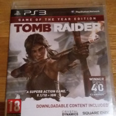 JOC PS3 TOMB RAIDER Game of the year edition ORIGINAL / by WADDER - Jocuri PS3 Square Enix, Actiune, 18+, Single player
