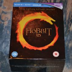 Film - Hobbit Trilogy Theatrical [Blu-ray 3D + Blu-ray + UV Copy 12 discuri] - Film Colectie mgm, Romana