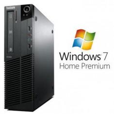 Sisteme desktop fara monitor - Calculatoare Refurbished ThinkCentre M81 Quad Core i5 2310 Win 7 Home