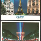 Lot 6 ilustrate, PARIS, necirculate, Fotografie, Europa