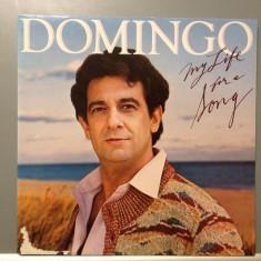 PLACIDO DOMINGO - MY LIFE FOR A SONG (1983/ CBS REC/ HOLLAND) - Vinil/Vinyl - Muzica Pop Columbia
