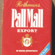 Pachet tigari - Tigari de colectie - PALL MALL Rothmans, fara filtru - Pachet sigilat anul 1979