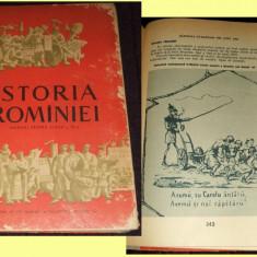 Carte Epoca de aur - Istoria Romaniei 1960 - manual RPR ilustrat clasa a XI-a, istorie comunista
