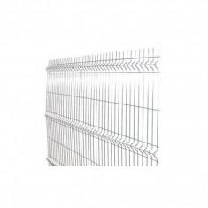Gradinarit - Panou gard bordurat zincat - 2000 x 1200 mm