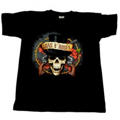 Tricou barbati - Tricou Guns N' Roses - moartea cu joben