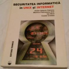 Securitatea informatica in Unix si Internet - Carte securitate IT