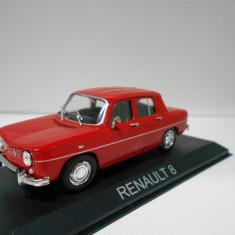 Macheta auto, 1:43 - Macheta Renault 8 - MASINI DE LEGENDA Bulgaria scara 1:43