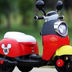 Masinuta electrica copii - Motocicleta scooter electrica MICKEY MOUSE