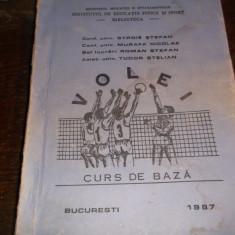 VOLEI CURS DE BAZA - Certificare