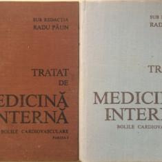 TRATAT DE MEDICINA INTERNA. BOLILE CARDIOVASCULARE - Radu Paun (4 volume)