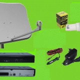 Sistem complet satelit - Antena tv satelit auto /camping/rulota