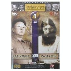 DVD Personaliatati care au marcat istoria lumii Kim Jong Il Rasputin - Film documentare Altele, Romana