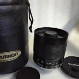 Obiectiv DSLR - Vand obiectiv pe montura MINOLTA/SONY 500mm 8 impecabil, cu etui