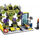 Hulk Mech vs Black Widow joc tip LEGO Marvel Avengers 234 piese SY361A - Jocuri Seturi constructie, 4-6 ani, Baiat