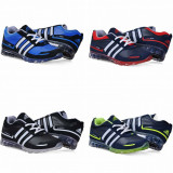 Adidas SpringBlade - Adidasi barbati, Marime: 36, 37, 38, 39, 40, 41, 42, 43, 44, Culoare: Albastru, Negru, Rosu, Verde