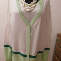 CARDIGAN CU BLUZA LA SET, MINUNAT, NR 50 - Pulover dama, Culoare: Din imagine, Compleu bluza cardigan, Vascoza