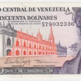 bancnota america, An: 1995 - VENEZUELA 10 bolivares 1995 aUNC-