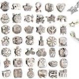 Charmuri/Talismane tip Pandora  modele deosebite placate cu argint 5+1GRATIS