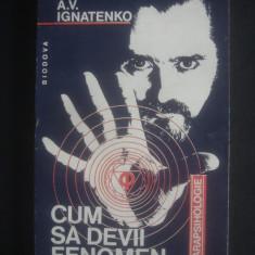 A. V. IGNATENKO - CUM SA DEVII FENOMEN - Carte Hobby Paranormal