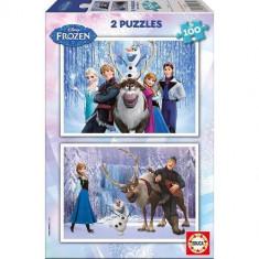Puzzle Educa Frozen Cu 100 De Piese