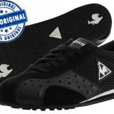 Adidasi dama Le Coq Sportif Romilly Lace - adidasi originali - piele naturala, Marime: 38, Culoare: Negru