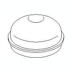 Capac de protectie, butuc roata OPEL ASTRA G hatchback 1.2 16V - TOPRAN 207 569