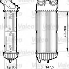 Intercooler, compresor CITROËN XSARA PICASSO 1.6 HDi - VALEO 817706 - Intercooler turbo