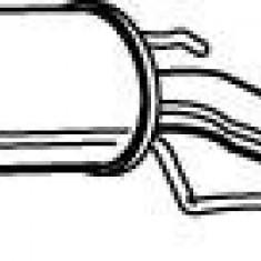 Toba esapamet intermediara OPEL VECTRA B hatchback 1.8 i 16V - WALKER 22502 - Toba finala auto