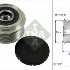 Sistem roata libera, generator VAUXHALL ZAFIRA Mk II 1.7 CDTI - INA 535 0065 10 - Fulie
