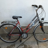 4 Bicicleta TecnoBike second-hand, Germania R28 - Bicicleta Dama, 20 inch, Numar viteze: 21