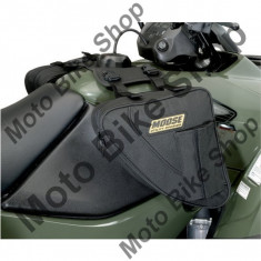 MBS Genti BigHorn laterale rezervor ATV, material textil impermeabil, cm 27Lx27lat.x9 inaltime, negru, Cod Produs: 35020159PE