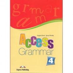 Curs limba engleza Access 4 Gramatica Express Publishing Virginia Evans