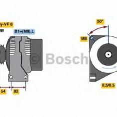 Generator / Alternator VOLVO V70 Mk II 2.4 D5 - BOSCH 0 986 047 500 - Alternator auto