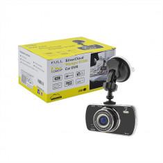 "Resigilat - DVR auto SilverCloud Voyager S1200 Full HD 1080p cu display 3"" si card de 8GB inclus - Camera video auto"