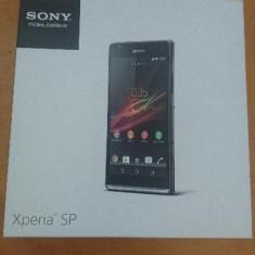 Vand Sony Xperia SP - Telefon mobil Sony Xperia SP, Negru, Neblocat