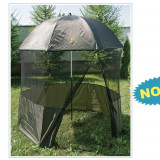 Shelter U2 Baracuda umbrela cu inchidere totala la 360 protecție anti-țânțar - Cort